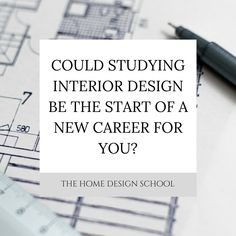 Could studying interior design be the start of a new career for you? Come and read this week's blog post to see whether this could be a good fit for you.