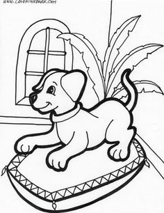 puppy coloring pages to print puppies inside coloring page