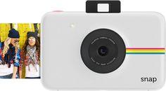 Amazon.com : Polaroid Snap Instant Digital Camera (White) with ZINK Zero Ink Printing Technology : Camera & Photo