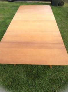 Beautiful Heywood Wakefield Drop Leaf Table