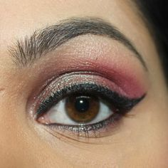 mac blue brown pigment with pink hues