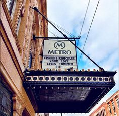 Chicago lost a legend; house music lost its godfather; and the Metro/Smart Bar family lost a dear friend. Rest in peace, Frankie.