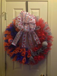 House divided wreath