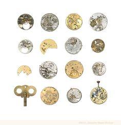 """""""Interrupted Pocket Watches"""" by Jennifer Steen Booher"""