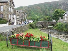 Beddgelert and the river, Snowdonia, Caernarfonshire, North Wales. Anglesey, Snowdonia, Wales Uk, North Wales, Aberystwyth, Cymru, English Countryside, British Isles, Magic Kingdom