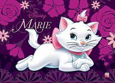Painel de festa Gata Marie, Disney Cats, Alley Cat, Kawaii, Aristocats, Cat Party, Baby Cartoon, Disney Pictures, Disney Wallpaper