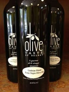 Umbrian Blend Extra Virgin Olive Oil from Spoleto, Italy. Featuring, Frantoio, one of the most highly acclaimed oil varieties in the world that features an intense, fruity taste blended with Leccino a milder, sweeter olive flavor. When these two famed Umbrian olive oils join forces, they balance each other out perfectly for an out-of-this-world taste experience! The intensity is medium robust.