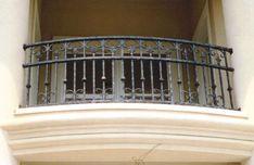 Aluminum Balcony Railing - craftsman - outdoor products - miami - by Southeastern Ornamental Iron Co Iron Balcony, House Design, Juliette Balcony, Iron, Aluminum Decking, Metal Deck, Balcony Railing, Iron Railing, Balcony