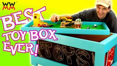 Build this toy box to help fight cancer. Get involved!