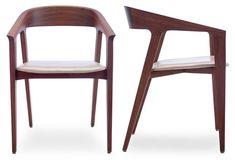 Rake Dining Chair by OKHA
