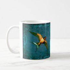 #African or European Swallow Coffee Mug - #office #gifts #giftideas #business