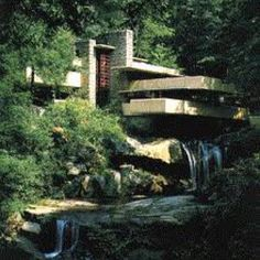 Frank Lloyd Wright's Falling Water in  Pennsylvania. I went when I was 18, it was absolutely stunning. The inside was equally gorgeous. They Used to do 2 hour guided tours for $50. Totally worth it.