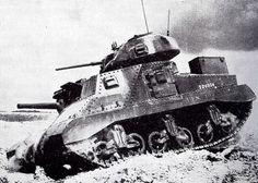 Un M3 Grant britannique à la bataille de Gazala, en Libye, le 27 mai 1942