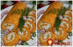 Fantastická roláda z mrkvového cesta s tvarohovou náplňou a bez jediného gramu múky. Na veľkonočný stôl je ako stvorená!