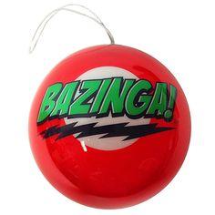 Big Bang Theory Holiday Ornaments