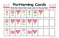 Valentine's Day Preschool Theme free Printables Pack