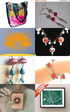 Avid Treasurers Team Treasury Game 244 by Abi on Etsy--Pinned with…