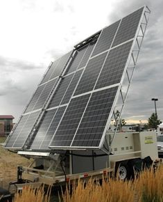 SolaRover Mobile Solar Power Systems: Trailers