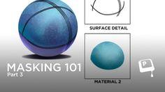 Digital Painting - Masking 101 pt. 3