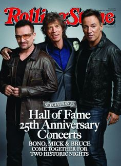 Mick Jagger of The Rolling Stones with Bono and Bruce Springsteen - Rolling Stones Magazine Melanie Hamrick, Georgia May Jagger, The Rolling Stones, American Music Awards, Mick Jagger, Music Love, Rock Music, Art Music, Elvis Presley