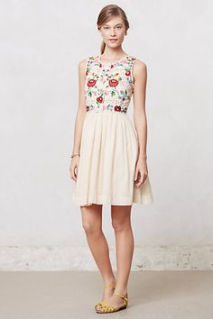 Stitched Soliloquy Dress #anthropologie