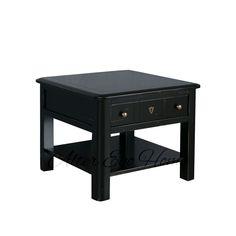 Купить черный журнальный столик из вишни в интернет-магазине AlterEgoHome
