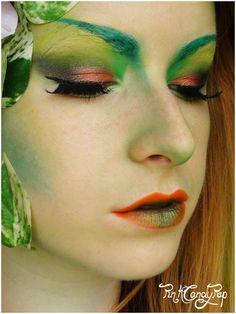 Poison Ivy make up idea