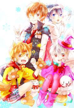 Mafumafu, Amatsuki, Soraru, and Itou Kashitarou