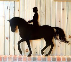 A personal favorite from my Etsy shop https://www.etsy.com/listing/270598808/piaffe-dressage-silhouette