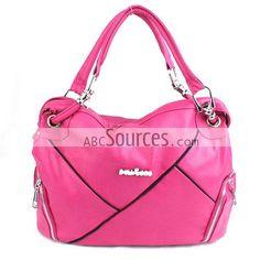 China Wholesale Fusia Handbag, Shoulder Bag, Fashion Tote Bags