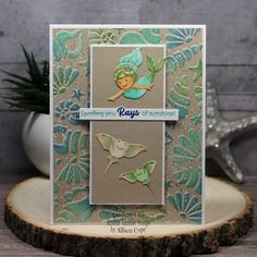 Be a Mermaid Mermaid Images, Colorbox, Manta Ray, Pigment Ink, Lawn Fawn, Copic Markers, Cute Cards, Sea Shells, Your Design