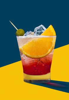 negroni cocktail artdeco drinks photography
