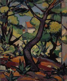 Landscape at Cassis by Samuel John Peploe (1924)