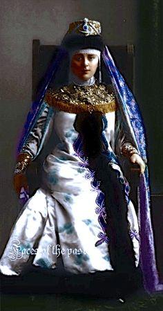 Princess Tatiana Mikhailovna Gagarina at the Winter Palace Costume Ball of 1903. by ~VelkokneznaMaria.