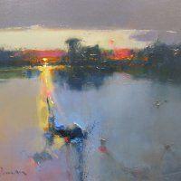 Sunset, Holkham