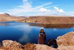 Paz, hermoso paisaje. Lago Unayo