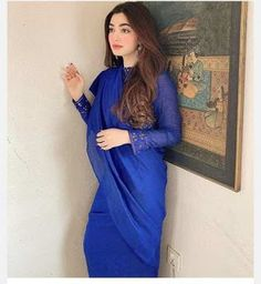 Asian Wedding Dress Pakistani, Pakistani Dresses, Simple Indian Suits, Bollywood Actress Hot Photos, Stylish Girl Pic, Saree Styles, Dress Styles, India Beauty, Dream Dress