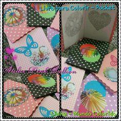 Livro de colorir - Pocket Ideal para lembrancinhas!!!