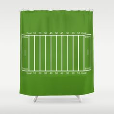 "Stop neglecting bathroom decor - our designer Shower Curtains bring a fresh new feel to an overlooked space. Hookless and extra long, these bathroom curtains feature crisp and colorful prints on the front, with a white reverse side.     - One size: 71"" (W) x 74"" (H)   - Made in the USA with 100% polyester   - 12 buttonhole-top for easy hanging    - Machine washable, tumble dry   - Rod, curtain liner and hooks not included"
