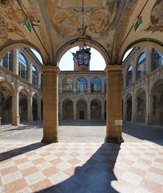 University of Bologna, founded in 1088 and is still one of the World's Most Beautiful Universities