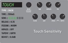 "This Week's Preset: TimeLine - ""Touch Sensitivity"" - Duck delay machine. #strymonpreset"