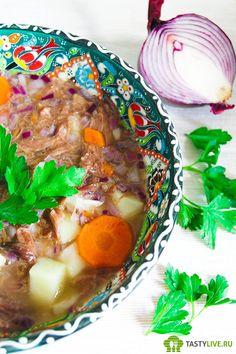 Суп из бычьих хвостов (Oxtail soup) http://tastylive.ru/sup-iz-bychih-hvostov