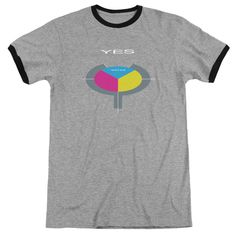 Yes 90125 Retro Ringer Adult T-Shirt