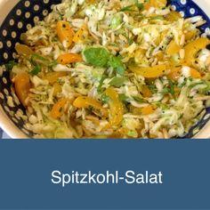 Wie mich der Spitzkohl happy machte -oder – Ich freu mich über den Spitzkohlsalat | Lilamalerie.de