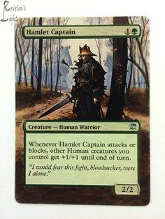 4x Hamlet Captain x4 MTG