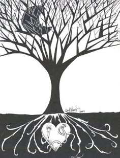 Bajo tierra - dibujo