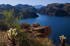 Saguaro Lake  by Marcus W. Reinkensmeyer, AZ