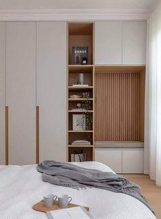 Wardrobe Door Designs, Wardrobe Design Bedroom, Room Design Bedroom, Bedroom Cupboard Designs, Bedroom Furniture Design, Home Room Design, Home Bedroom, Interior Design Living Room, Bedroom Decor