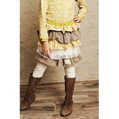 Swanky Baby Vintage Madilyn's Multi Tiered Skirt