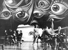 Salvador Dali set design for Alfred Hitchcock's Spellbound (1945)  Golden Age Comic Book Stories
